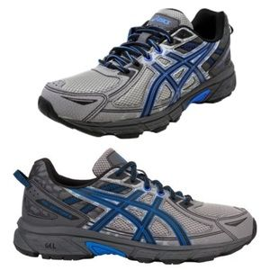 Asics Gel Venture 6 Trail Running Shock Grey Blue